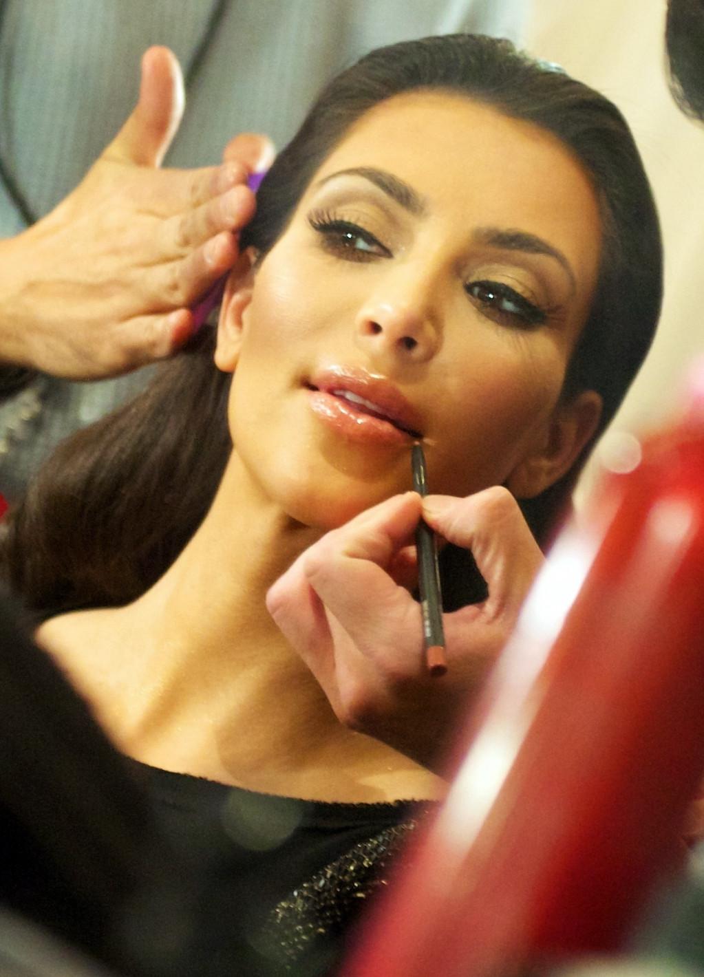 Hvordan gør Kim Kardashian? Se her!